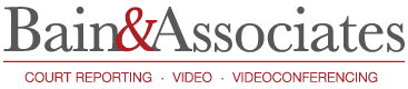 Bain & Associates Court Reporters, Court Reporting, Conference Rooms, Video Conferencing, Birmingham, AL |Mobile, AL | Huntsville, AL| Montgomery, AL